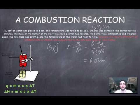5 Calorimetry Calculations (combustion)