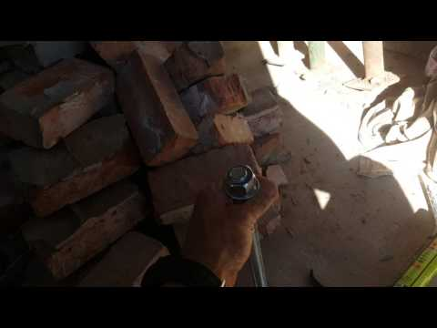 How to fix a steel rsg lintel to a wall. welding