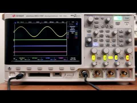 Keysight 3000T 1GHz Oscilloscope Review