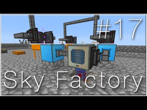 Sieving with Thermal Expansion (Sky Factory #17)