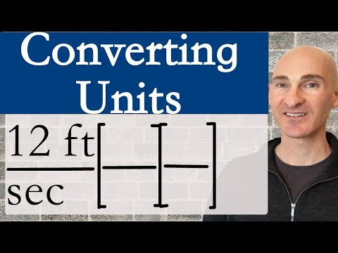 Dimensional Analysis (Converting Units)