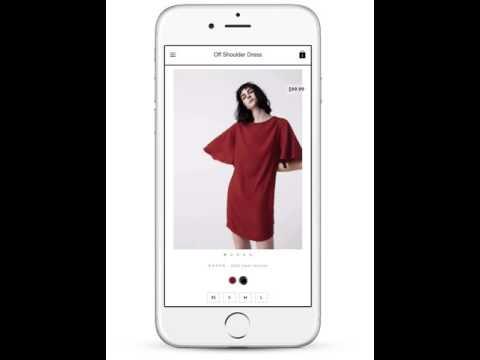 apparel responsive magento 2 theme iphone tour  by themeness.com