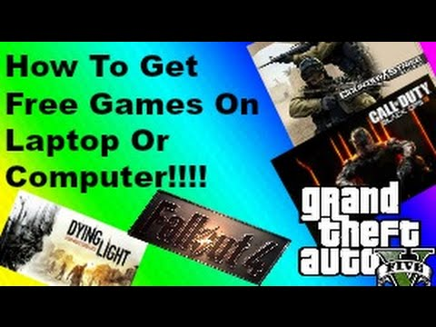 How To Get Free Games On Your Laptop/PC