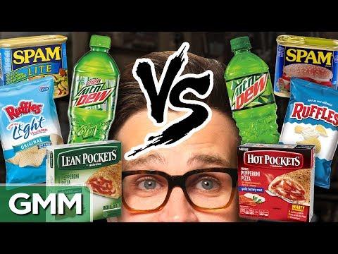 Diet vs. Regular Taste Test
