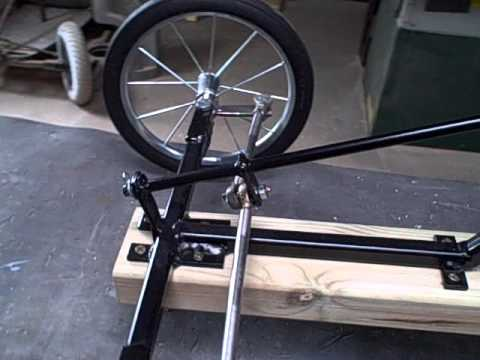 Newer version of the bolt on steering conversion