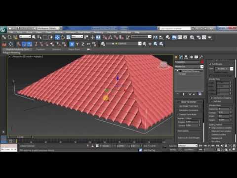 pyramid or hip roof using batzal roof designer plugin