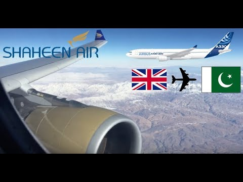 Flight review Shaheen Airline A330-200 Manchester to Islamabad 10/12/2016