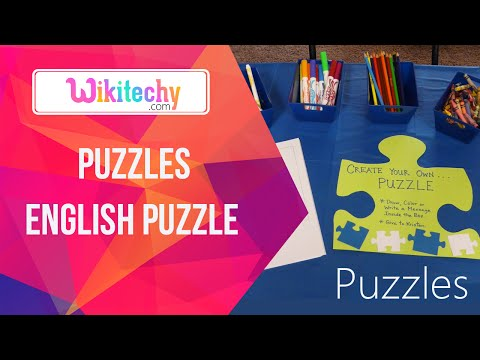 English Puzzle | Puzzle Games | Learn English | Puzzle | Crossword | Learn English