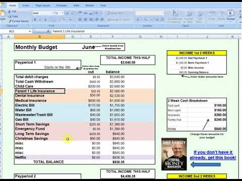 How to Use the Best Excel Budget Spreadsheet Template Step by Step
