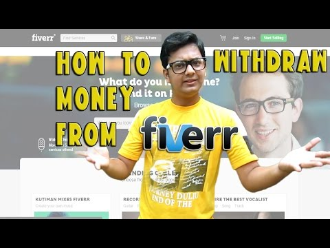 Howto withdraw Money from Fiverr (Paypal and Bank Account)