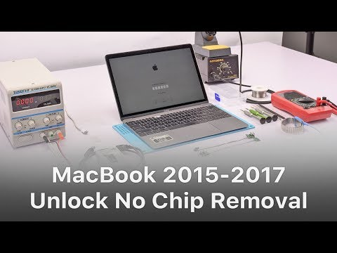 Unlock MacBook 2015-2017 No Chip Removal  - Chapter 3