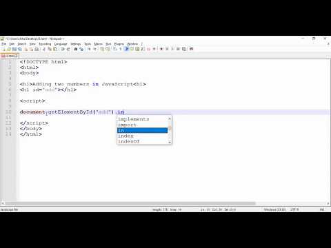 JavaScript - Addition Two Numbers