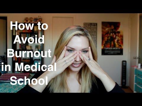 Avoiding Burnout in Medical School