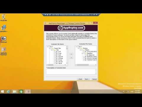 Transformar arquivos EXE em arquivo MSI