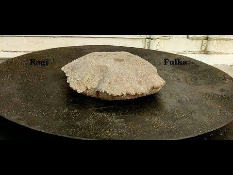 ragi roti phulka recipe - gluten free supergrain