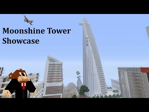 Minecraft Skyscraper- (Moonshine Tower USR)
