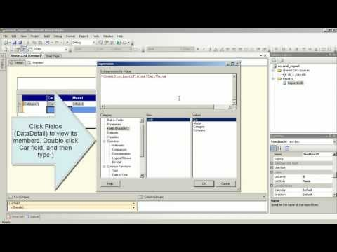 Reporting Services tutorial. SSRS tutorial. Using Report Designer.