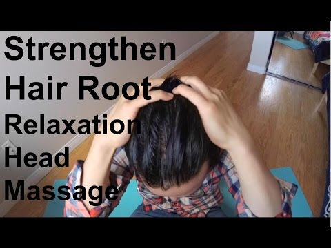 ASMR Head Massage (Strengthen Hair Root) Promotes Relaxation and Boost Flow and Circulation