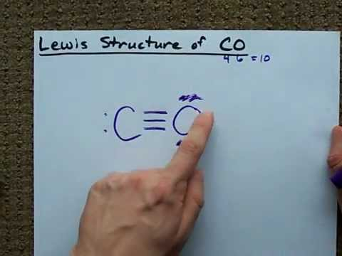 Lewis Structure of CO (Carbon Monoxide)