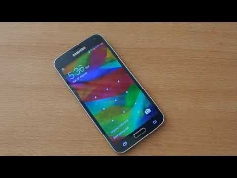 How To Unlock Samsung Galaxy S5 Screen Without Touching it
