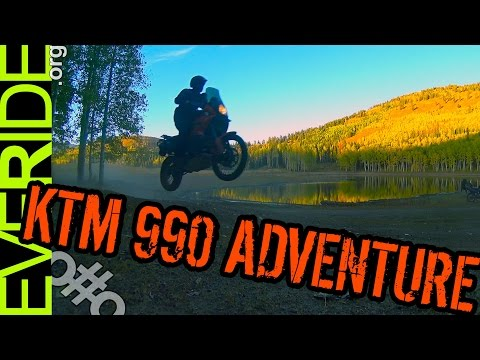 The KTM 990 Adventure Mini Review: BEEFY BEASTY LADIES! o#o