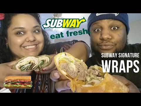 Subway Signature Wraps FOOD REVIEW