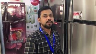 LG DID Refrigerator Product Demo in Nepali