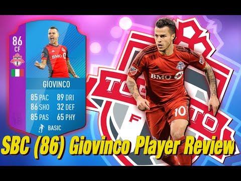 SBC Giovinco Review (86)     The Italian Messi?!?!     FIFA 18 Ultimate Team