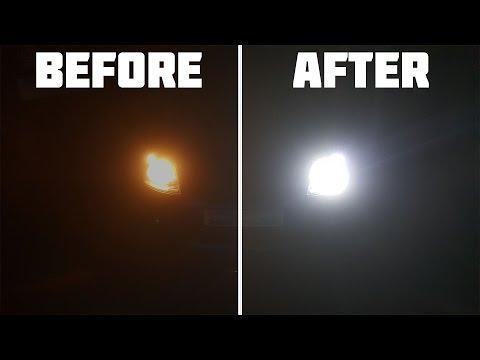 Installing LED headlight bulbs (Fiesta Mk6)