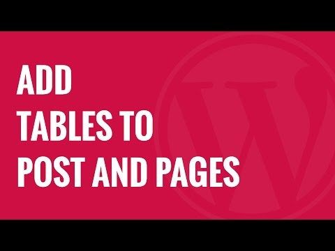 How to Add Tables in WordPress Posts and Pages No HTML Required