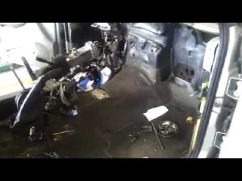 Mice Nest in Blower Motor
