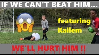 Best Over 45's Goalkeeper On Youtube ? Kailem Vs Henry Vs Dad | Who Will Win ?