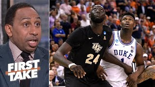 Download UCF exposed the blueprint for beating Zion, Duke - Stephen A. | First Take Video