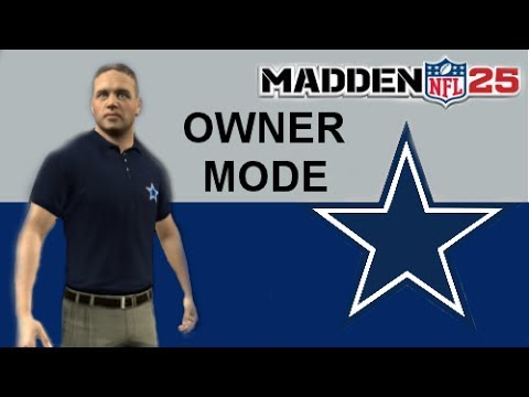 Madden 25 Owner Mode ep. 3: Tony Romo Trade Offers and First Practice