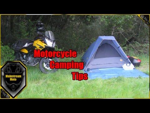 Motorcycle Camping Tips