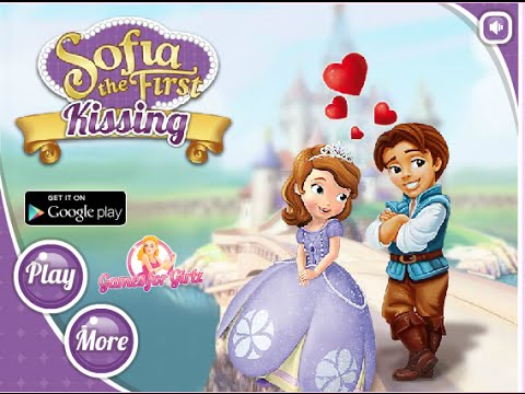 Princess Kissing Games For Girls - Sofia's First Kiss