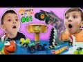 Chase39s Corner HOT WHEELS MONSTER TRUCKS Mecha Shark Face Off W Shawn 61 DOH MUCH FUN