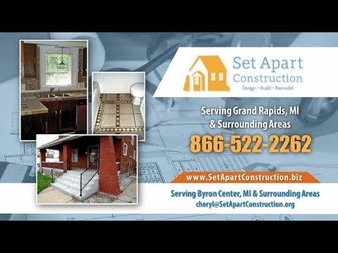Set Apart Construction, LLC | Fire and Water Damage Restoration Grand Rapids MI