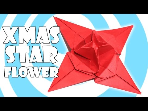 DIY: Origami Christmas Star Flower Tutorial (Origamite)