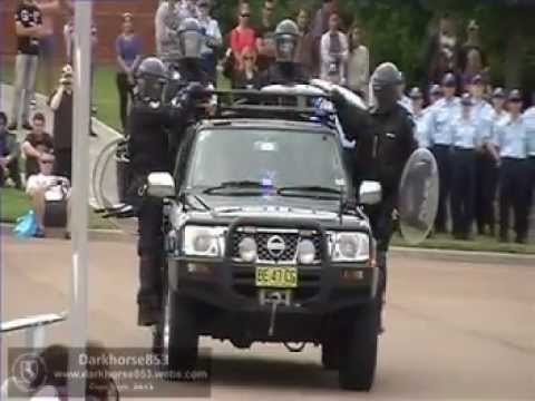 Public Order Riot Squad Display @ NSW Police Force Academy Open Day 2013