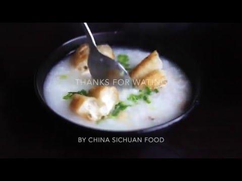 Chicken Congee (鸡肉粥)