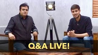 Dhruv Rathee with Abhisar Sharma   Youtube Live Q&A on Accidental Prime Minister and Congress
