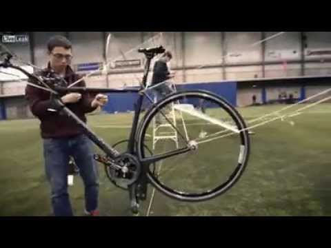 Helicopter Powered by Man on Bicycle Wins $250,000 Prize