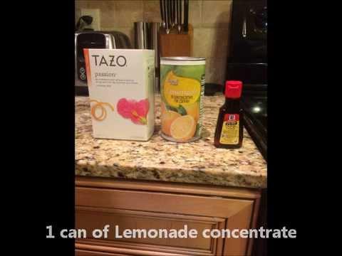 How to make Starbucks's Passion Tea Lemonade