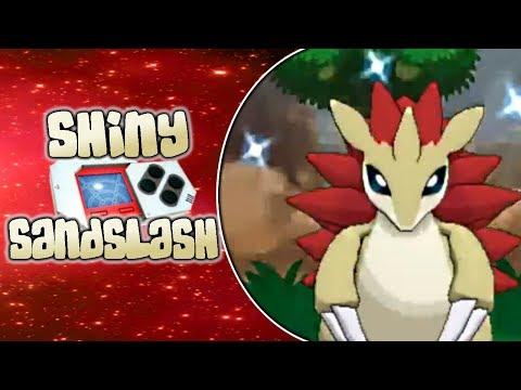 [LIVE] Shiny Sandslash after a 40 Pokeradar Chain!