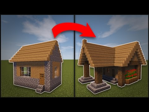 Minecraft: How To Remodel A Village Library