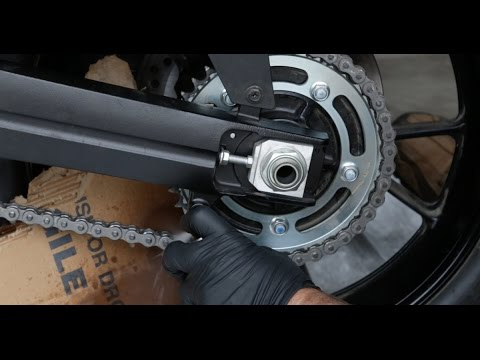 How to Clean and Lube Your Motorcycle Chain