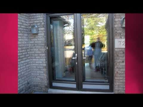 ANN AND MICHAEL INSTALL GLASS INSERTS ON THEIR FRONT DOOR