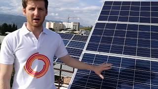 როგორ მუშაობს მზის ელექტროსადგური?