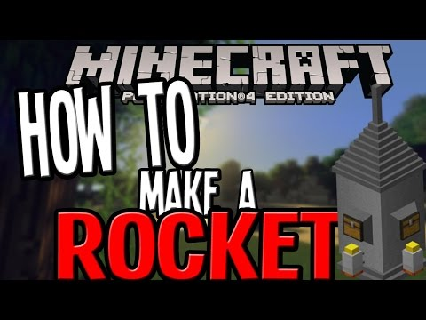 Minecraft PS3 & Xbox 360 - How To Make A Slime Block ROCKET! - (PS4/Xbox One)
